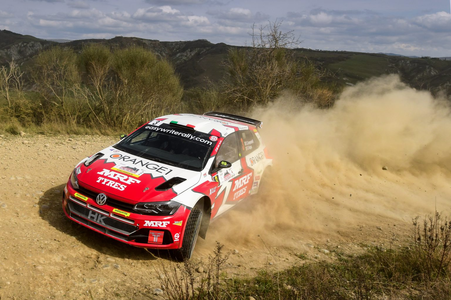 RALLY VAL D'ORCIA 2021#3 CAMPEDELLI-RAPPA