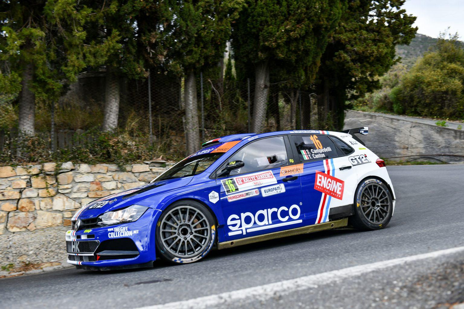 Rallye Sanremo 2021 #16 Campedelli 13